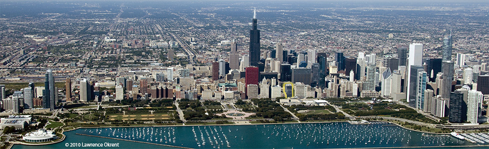 1-Aerial view of Chicago