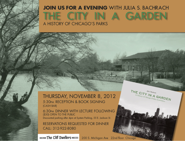 Flyer or An Evening with Julia S. Bachrach, November 8, 2012