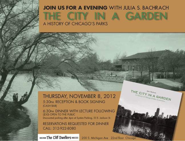 Flyer or An Evening with Julia S. Bachrach, November 8, 2012